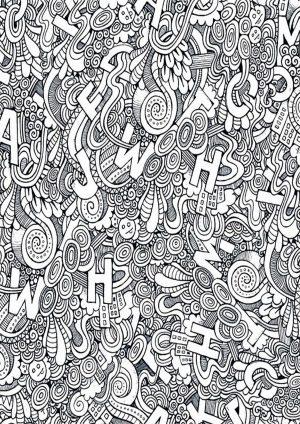 Раскраска с буквами