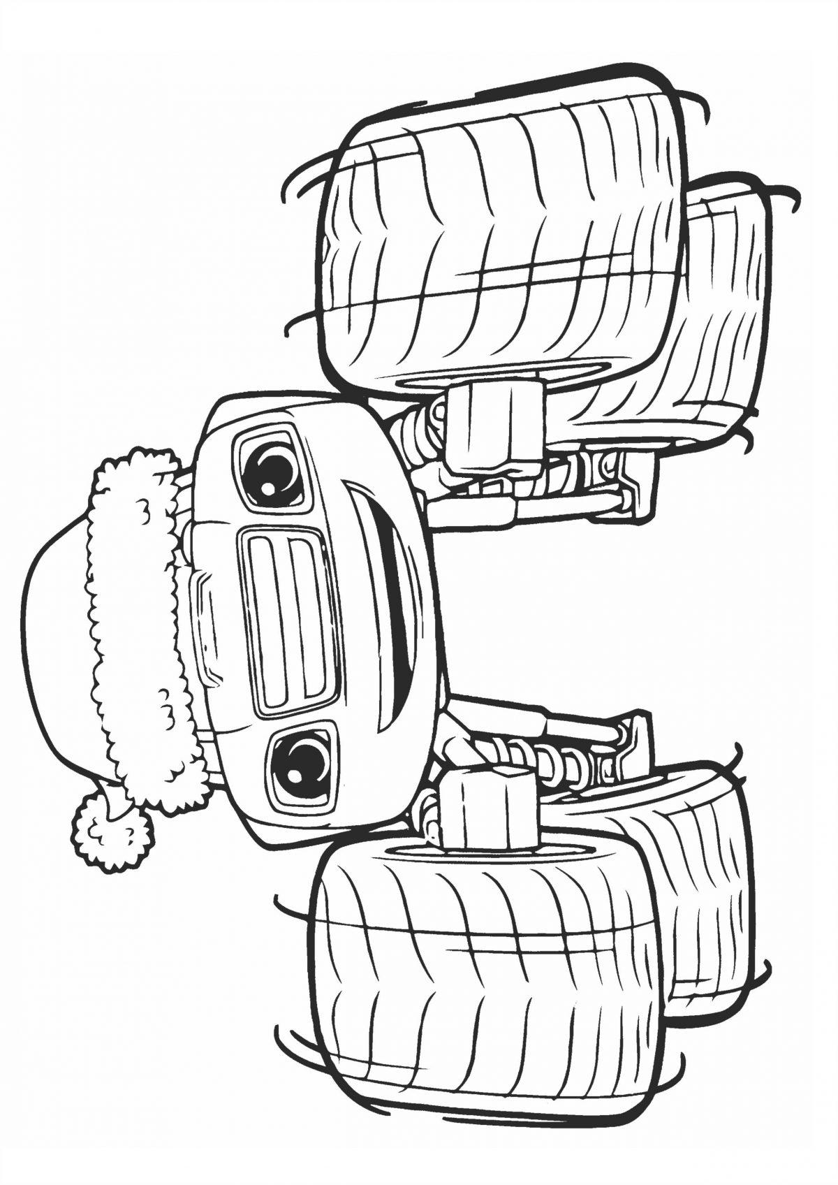 Раскраска Вспыш в Новогодней шапке распечатать